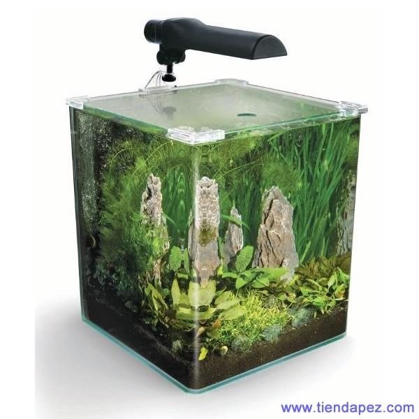 Fluval flora nano acuario para plantas 30 lts for Plantas de acuario
