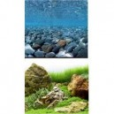 Marina Clear View 3D Fondo Rio/Jardin.Japones 61 Cm X 7.6M Ref 11759