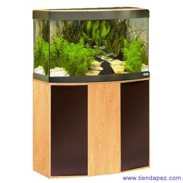 acuario fluval vicenza 260 roble wenge con mesa. Black Bedroom Furniture Sets. Home Design Ideas